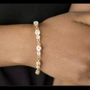 Bracelet - Twinkle Twinkle Little STARLET - Gold